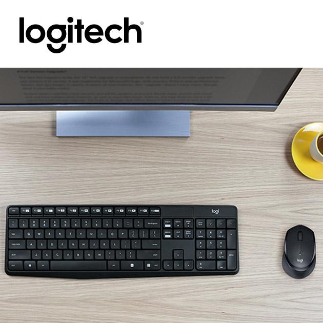 羅技 MK315 無線靜音鍵盤滑鼠組<BR><font color=1595ee>※後續停產 5