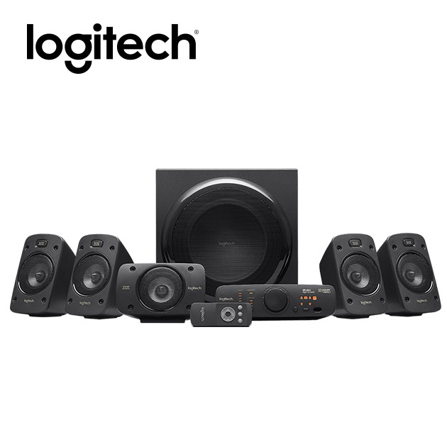 羅技 Z906 5.1聲道環繞音效音箱 1
