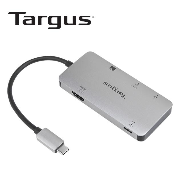 泰格斯 ACA953AP USB-C 4K HDMI HUB及讀卡機<BR>多功能轉換器 3