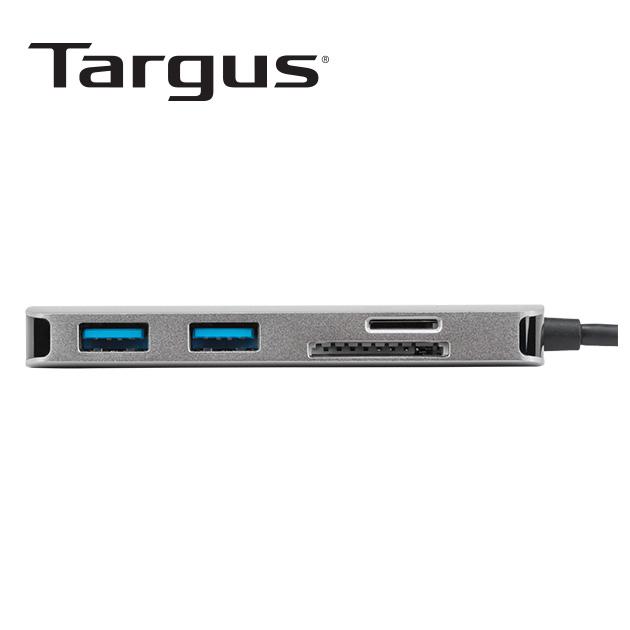 泰格斯 ACA953AP USB-C 4K HDMI HUB及讀卡機<BR>多功能轉換器 4