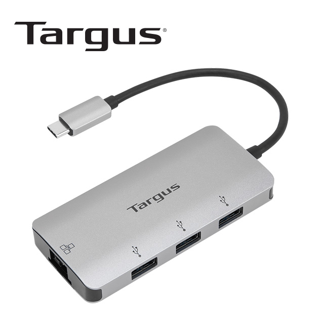 泰格斯 ACA959AP USB-C 網路端口 HUB<BR>多功能轉換器 1