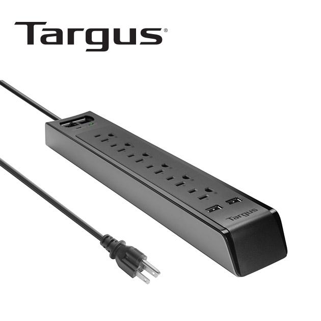 泰格斯 APS14 防突波6孔延長線+2port USB (200cm) 1