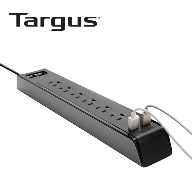泰格斯 APS14 防突波6孔延長線+2port USB (200cm) 3