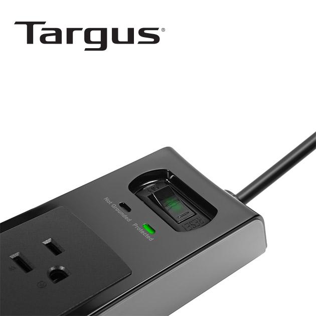 泰格斯 APS14 防突波6孔延長線+2port USB (200cm) 4