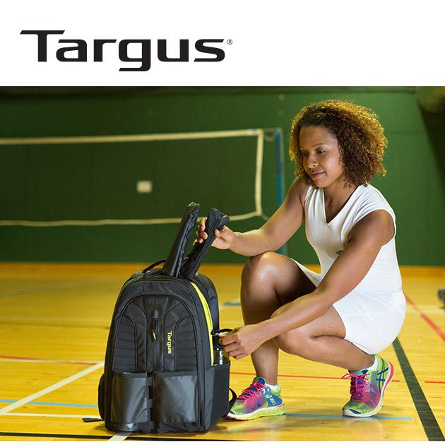 泰格斯 TSB943 Work+Play<br>15.6吋網球拍電腦運動後背包 2